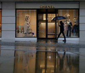 LONDON, ENGLAND - JANUARY 16: A pedestrian walks past the Chanel store on New Bond Street in Mayfair on January 16, 2021, in London, England. With a surge of COVID-19 cases fuelled partly by a more infectious variant of the virus, British leaders have reimposed nationwide lockdown measures across England through at least mid February. (Photo by Hollie Adams/Getty Images)